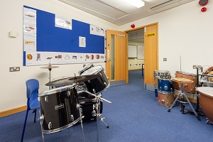 Music Practice Rooms