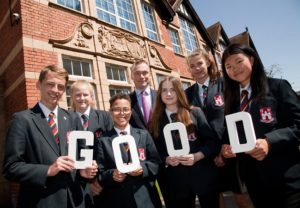 Bridgnorth Endowed is rated Good by Ofsted