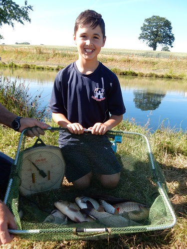 Angling event at Boldings Pools
